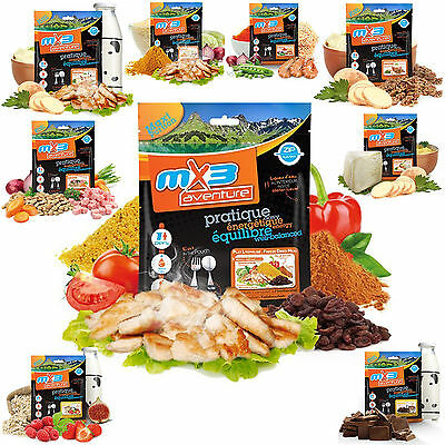 MX3 Aventure Freeze Dried Camping Hiking Military Ration Pack Pouch Food Meal