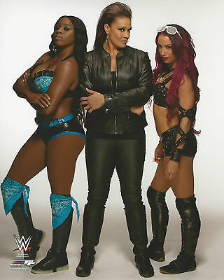 WWE 8x10 Official Promo Photo Team Bad 2015 BRAND NEW