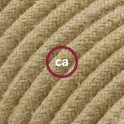 RN06 Solid Round Electric Cable covered by Jute fabric
