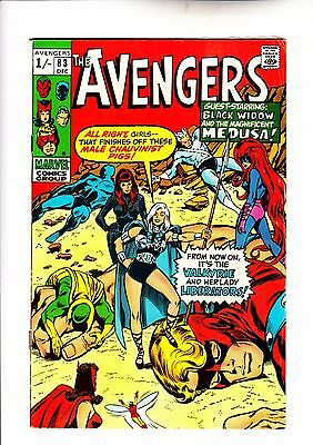 Avengers 83 1st app of Valkyrie and The Liberators