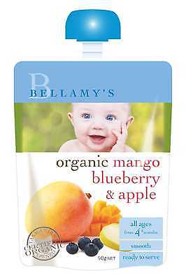 Bellamys Mango Blueberry & Apple 90G NEW Cincotta Chemist