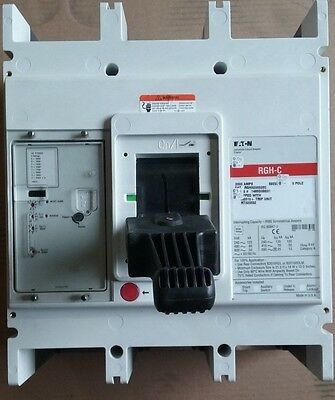 Eaton Cutler-Hammer Rgh320032E  C 2000 Amp Circuit Breaker New Take Outs