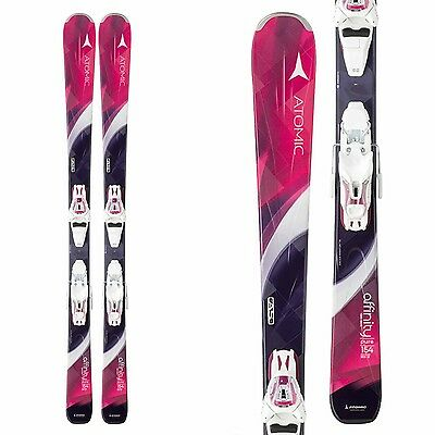 94553abb2394 BRAND NEW! 2016 ATOMIC AFFINITY PURE SKIS w ATOMIC LITH10 BINDINGS ...