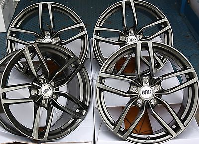 "18"" Gm Drs Alloy Wheels Fits 5X100 Audi Vw Crysler Seat Skoda Toyota Volkswagen"