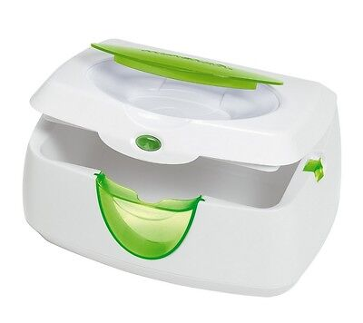 Munchkin WARM GLOW WIPE WARMER & Nightlight, GREEN ~NEW~