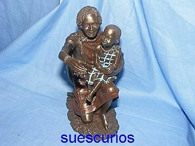 Maasai Tribe Salama Arms Of Safety Patina African Figurine Africa Collectable