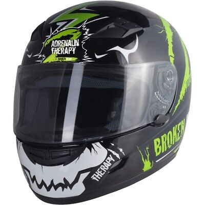 Motorradhelm Broken Head Adrenalin Therapy II glanz #8325 Integral Helm