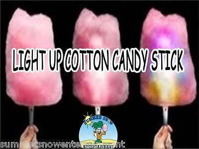 LED Cotton Candy Cone 8 FUNCTION GLOW IN THE DARK COTTON CANDY CONE QTY (3)