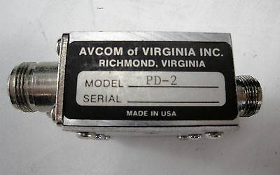 Avcom PD-2 2-Port N-Type RF Splitter-Combiner