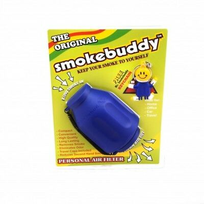 The Original Smokebuddy Smoke Buddy Personal Air Filter Nib! New Blue