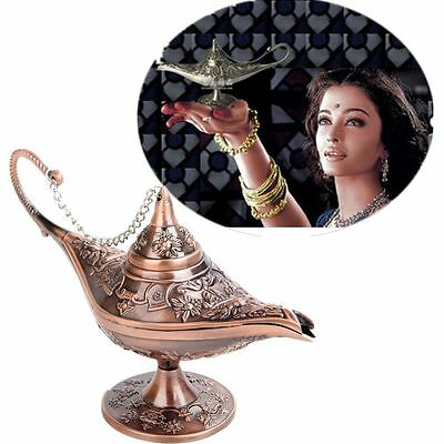 Collectable Classic Rare Legend Aladdin Magic Genie Light Oil Lamp Wish Lamp