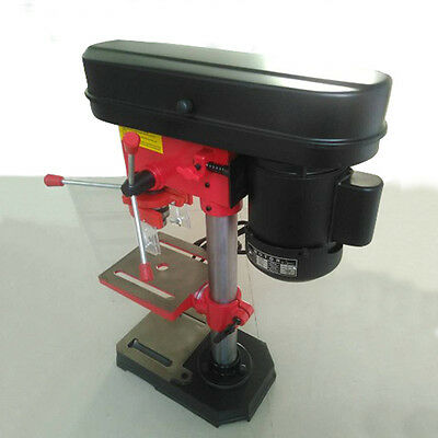 """ASG 110V 350W Electric 8"""" 5 Speed 520-2620 RPM Mini Stand Press Bench Drill Tool"""