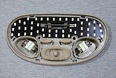 Holden VT VX Calais Berlina White Full LED Interior Light Kit + Exact Fit Panel