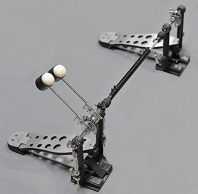 Basix Heavy Duty Double Bass Drum Pedal With Amazing Response And Made To Last