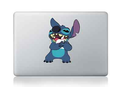 """Stitch - Macbook Air/Pro 13/15/17"""" Removable Vinyl Sticker Skin Decal Cover"""