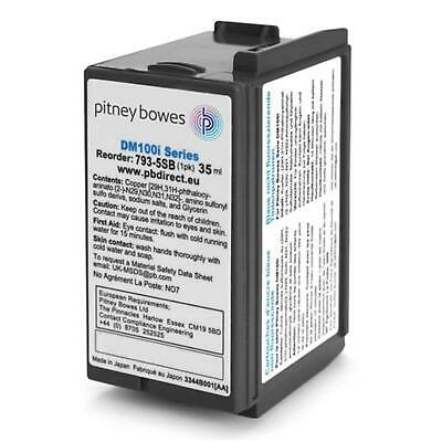 Pitney Bowes Original Franking Ink Cartridge Blue for DM100i DM125i DM150i DM160