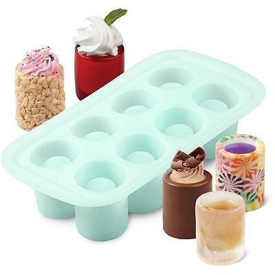 Wilton 8 Cavity Silicone Shot Glass Mould *new Product*