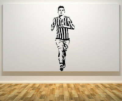 Paulo Dybala Juventus Argentina Football Player Wall Art Decal Sticker Picture