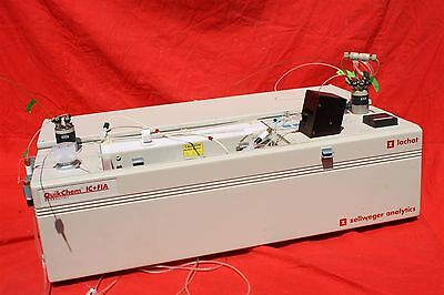 Lachat, Zellweger Series 8000 QuikChem IC+FIA   Ion Chromatography System