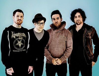 Fall Out Boy 8X10 Glossy Photo Picture Image #2