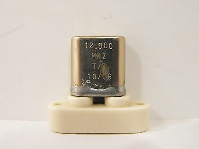 (1) Drake 4-Line T-4 R-4 Ham 12.9 MHz Crystal Covers 2.0 - ? MHz