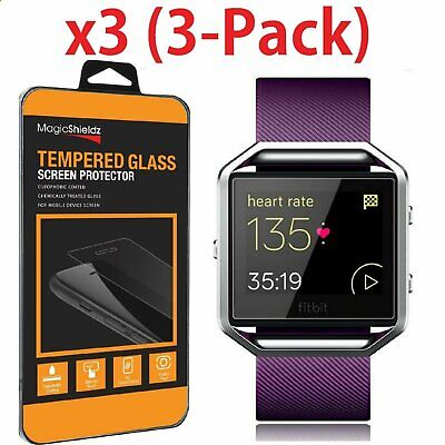 Premium Real Tempered Glass Film Screen Protector For Fitbit Blaze Smart Watch