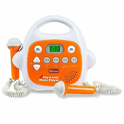 Kids MP3 Player Karaoke Machine 2 Microphone Bluetooth/MP3/AUX Connection