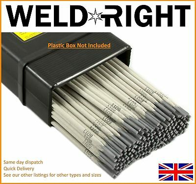 Weldright ER316L Stainless Steel Arc Welding Electrodes Rods 3.2mm x 10 rods