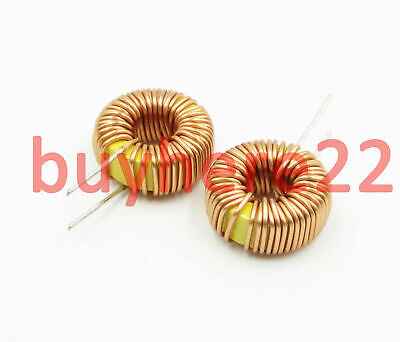 Toroid Core Inductors Wire Wind Wound for DIY mah--100uH 6A Coil NEW UK Seller