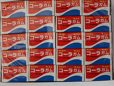 Marukawa bubble gum Cola-flavored cola flavoring use  60 pieces made in Japan