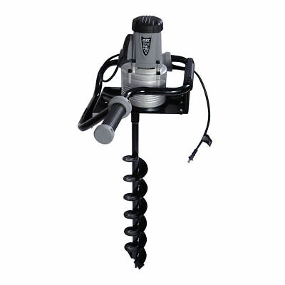 "New 1.6 HP Electric Post Hole Digger 1200w Watt Motor w/ 4"" Inch Auger Drill Bit"