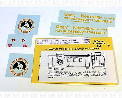 Champ O Decals Great Northern Caboose CN-193X Forward Goat