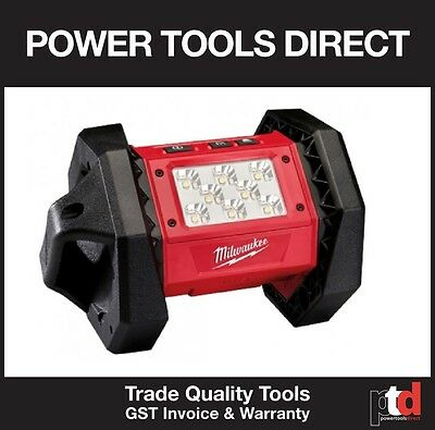 New Milwaukee 18V Cordless M18Al-0 Led Torch Area Worklight Bare Tool Only