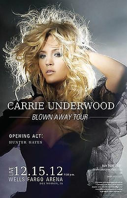 "Carrie Underwood 11""x17"" Poster Music Print on Gloss thick card stock paper. #5"
