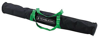 TC Helicon Microphone Stand Carry Bag - Holds Two Mic Boom Stands Band Studio DJ