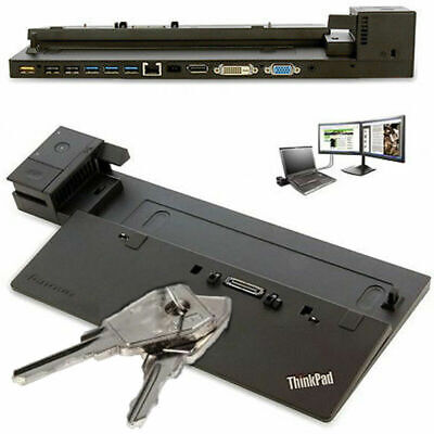 Lenovo Thinkad Pro Dock Port Replicator 04W3948 Type 40A1  550p, T450, X260 W540