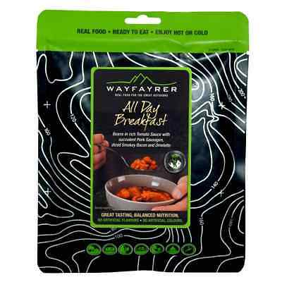 Wayfayrer All Day Breakfast MRE Boil in the Bag Expedition Food