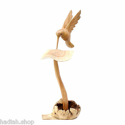 Assorted Birds On Parasite Wood Wooden Bird Carvings