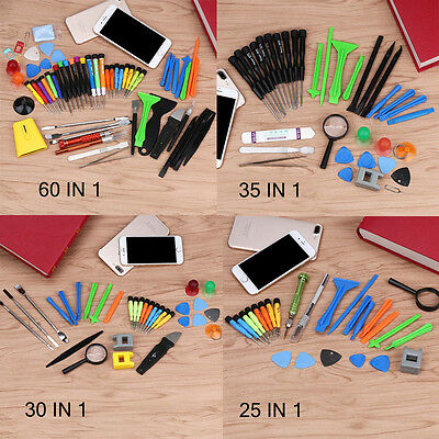 60 IN1 Mobile Repair Opening Tools Kit Set Pry Screwdriver For iPhone Cell Phone