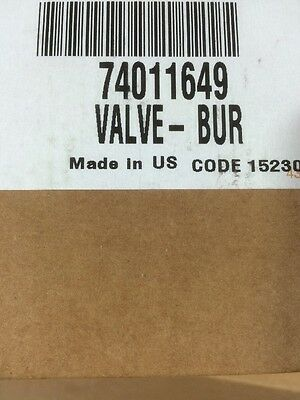 Whirlpool Gas Burner Valve 74011649