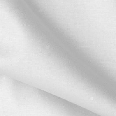 """Cotton Polyester Broadcloth Fabric Apparel 45"""" Inches PolyCotton 20 Yard WHITE"""