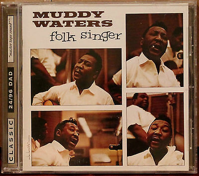 CLASSIC RECORDS CD DAD-1020: MUDDY WATERS - Folk Singer - 1998 USA