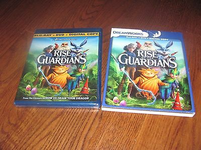 RISE OF THE GUARDIANS (Blu-ray/DVD, 2013, 2-Disc Set, Includes Digital Copy) NEW