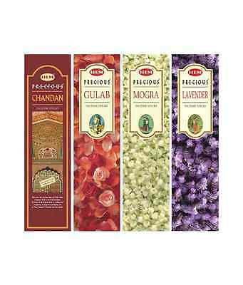 100g Bulk Value Pack Box Choose from 9 SCENTS HEM Precious Series Incense Sticks