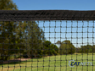 Cat Enclosure Netting  7.5m x 1.8m with REINFORCED EDGING