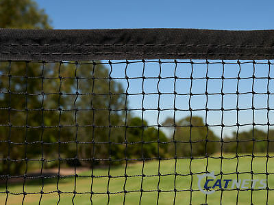 Cat Enclosure Netting  30m x 3m with REINFORCED EDGING