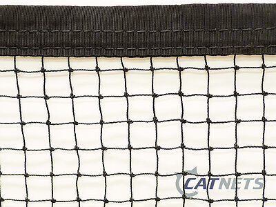 Cat Enclosure Netting  10m x 5m with REINFORCED EDGING