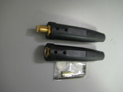 Welding Cable Connector Set #1/0-2/0 Male & Female LC40