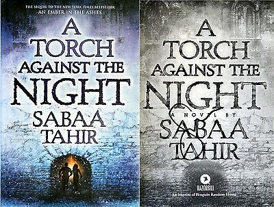 Sabaa Tahir~SIGNED~A Torch Against the Night~1st/1st~An Ember in the Ashes