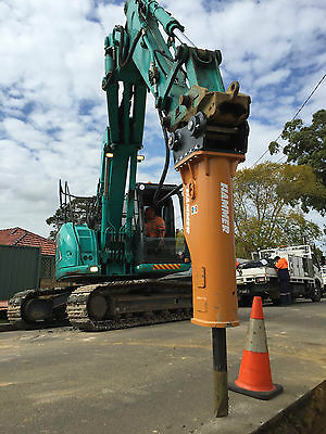 Hydraulic Hammer Excavator 8-14ton MADE IN ITALY HAMMER S.R.L Rock Breaker